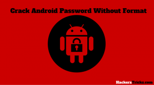 Crack Android Password with format