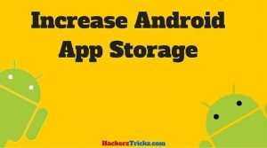 increase Android App Storage