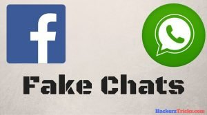 create fake conversation in whatsapp and facebook