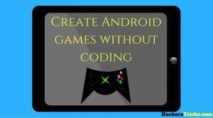 Create android games without coding