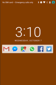 launch apps from android lockscreen