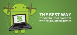 control pc with android