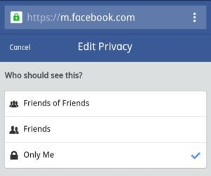 how to hide friends list on facebook