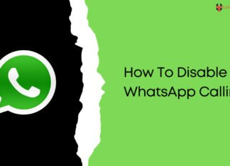 How To Disable WhatsApp Calling