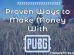 Earn money with PUBG