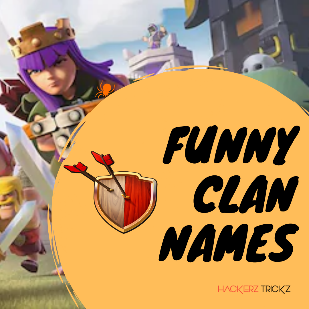 Funny Clan Names