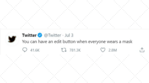 Twitter Edit button