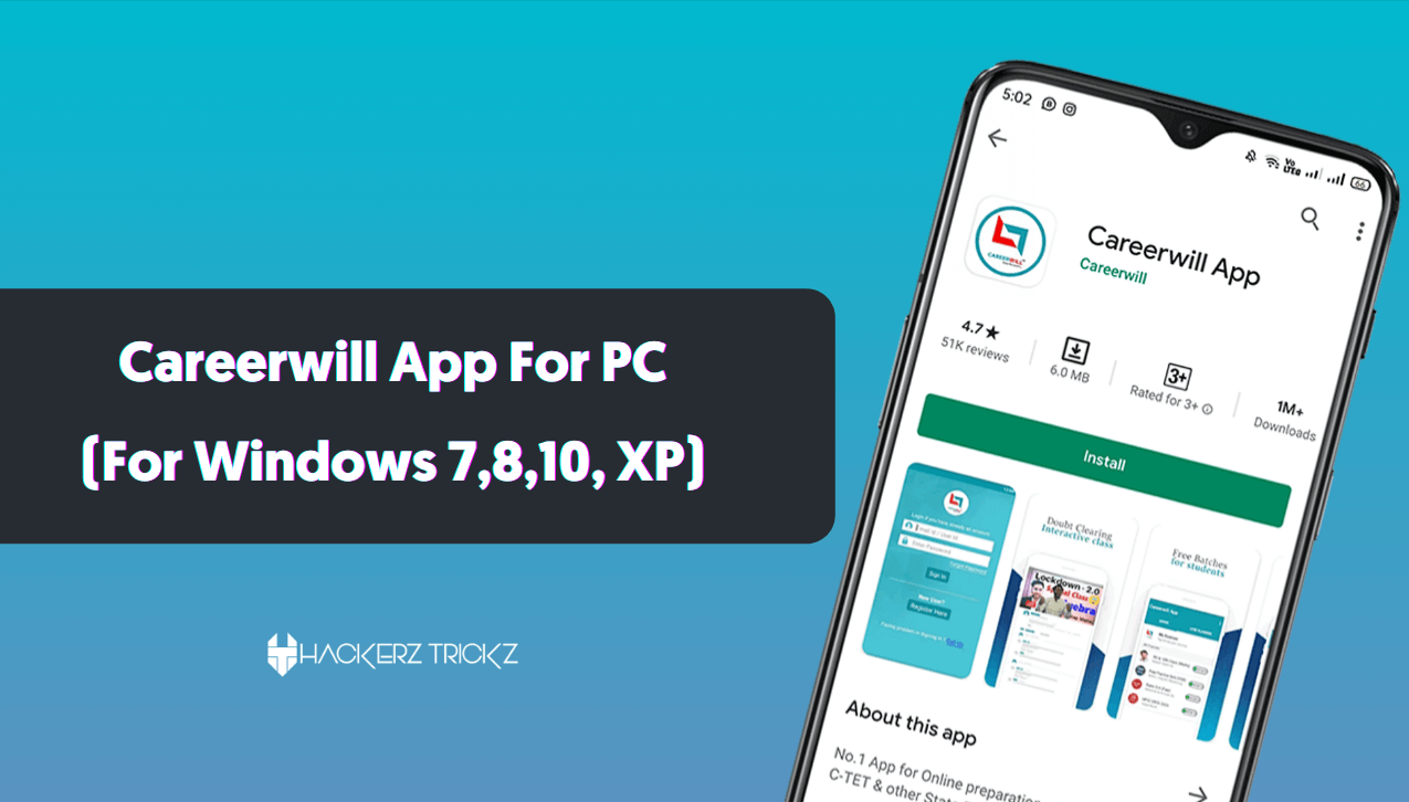 Careerwill App For PC download