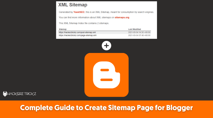 Create Sitemap Page for Blogger