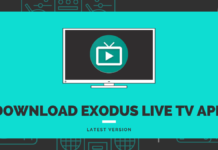 Exodus live TV Apk Download
