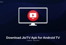 Download JioTV Apk for Android TV
