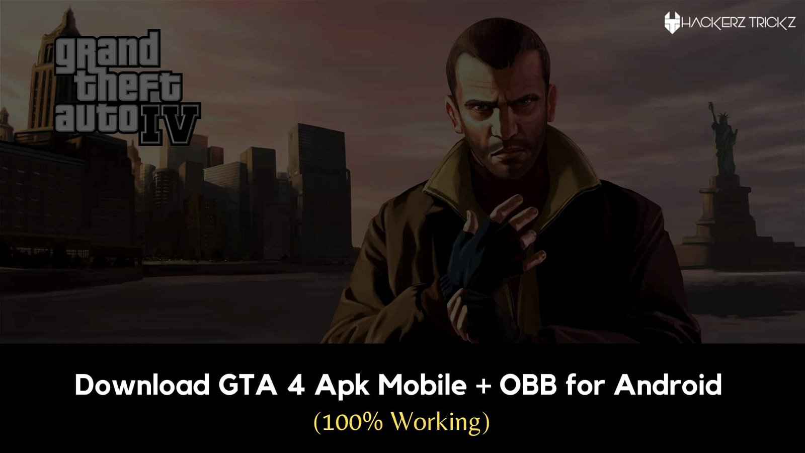 Download GTA 4 Apk Mobile + OBB for Android (100% Working)