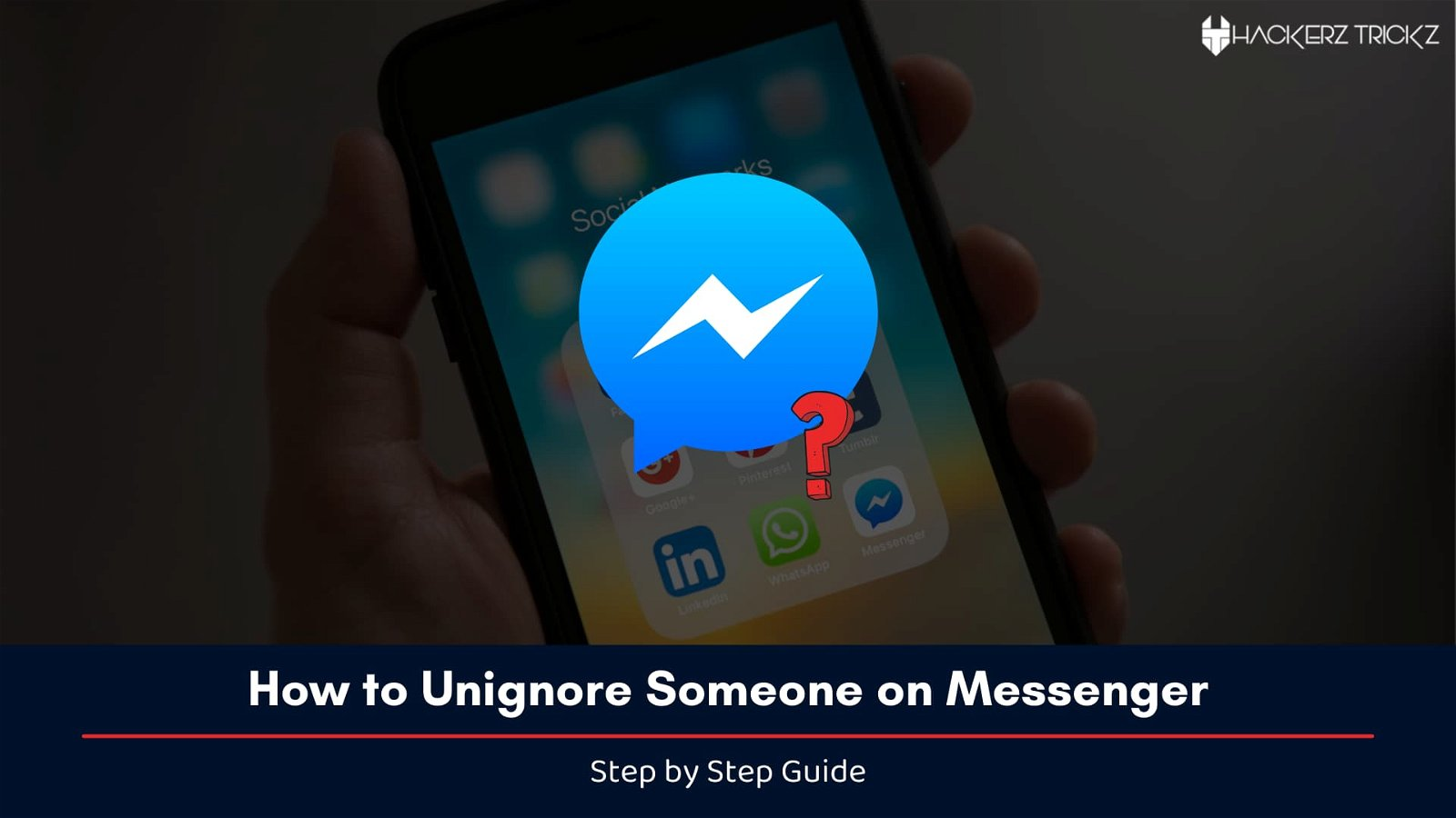 How to Unignore Someone on Messenger