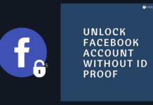 Unlock Facebook Account Without ID Proof