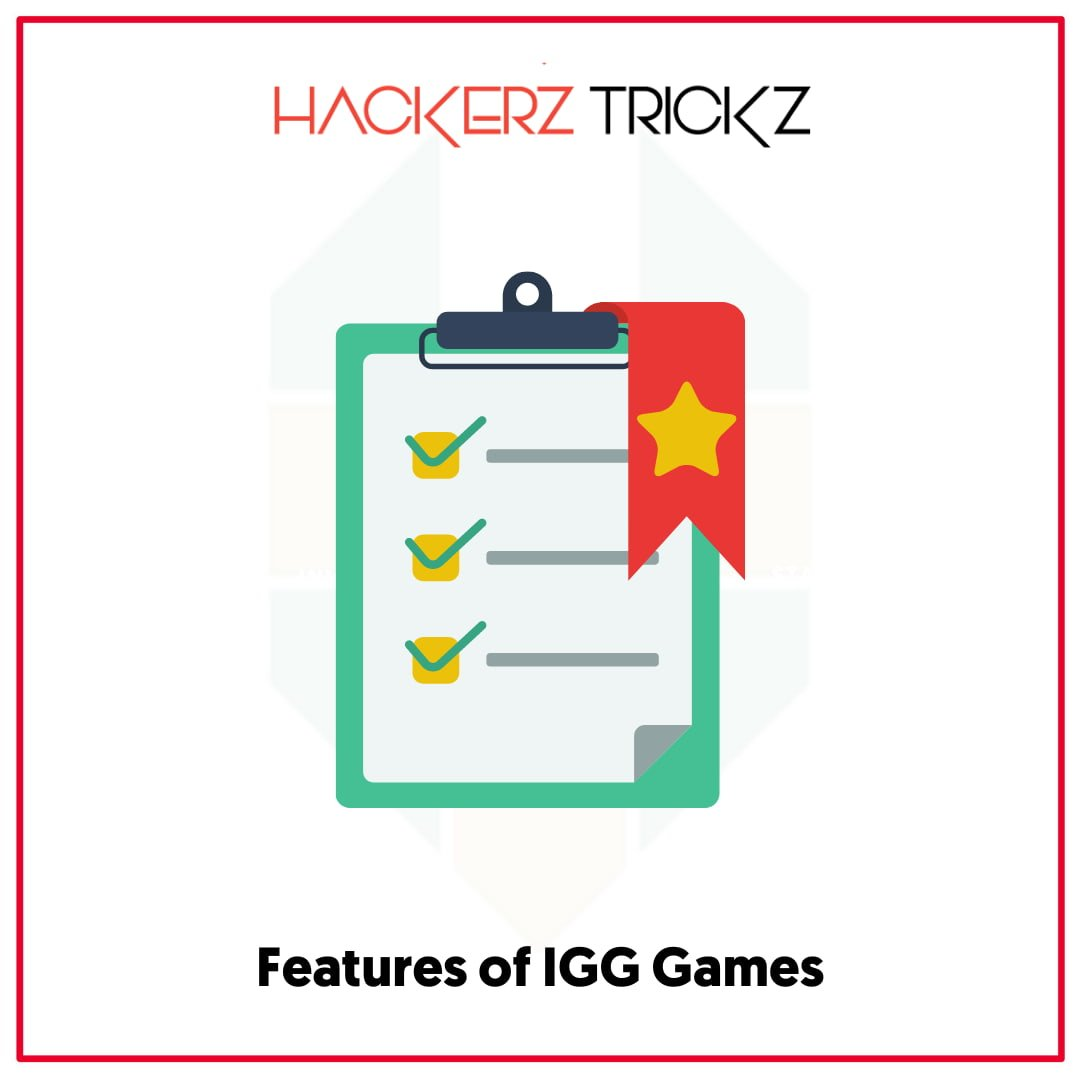 Features of IGG Games