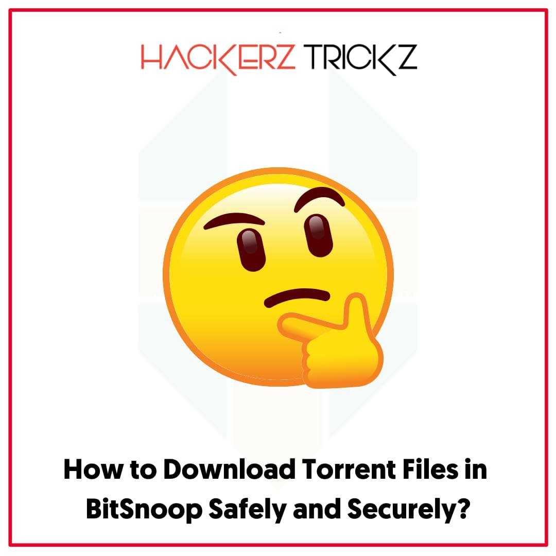 How to Download Torrent Files in BitSnoop Safely and Securely
