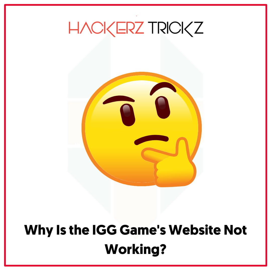 Why Is the IGG Game's Website Not Working