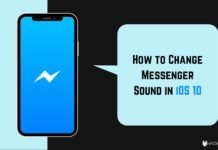 How to Change Messenger Sound in iOS 10