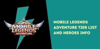 Mobile Legends Adventure Tier List and Heroes Info July 2021