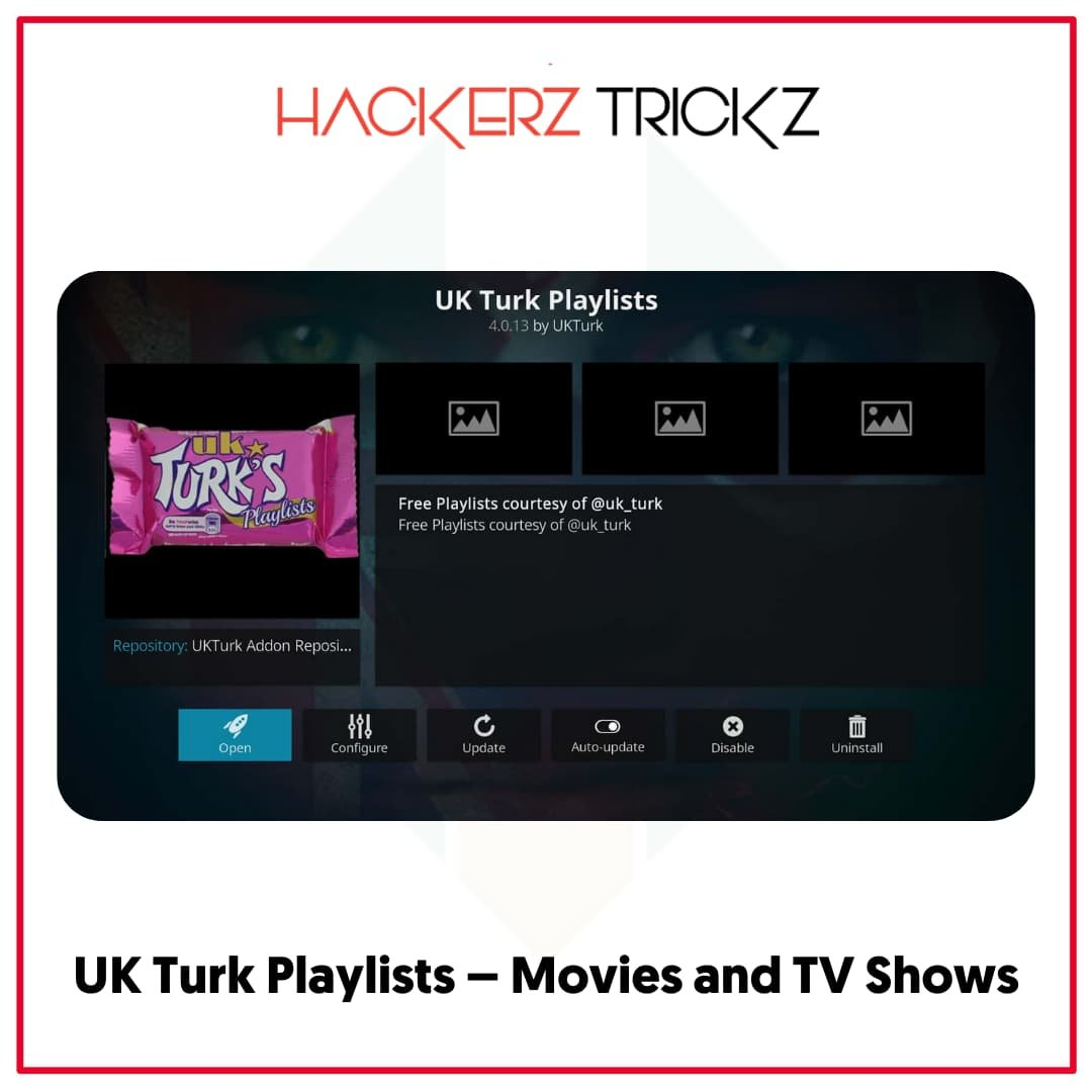 UK Turk Playlists – Movies and TV Shows