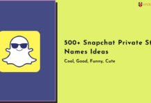 500+ Snapchat Private Story Names Ideas